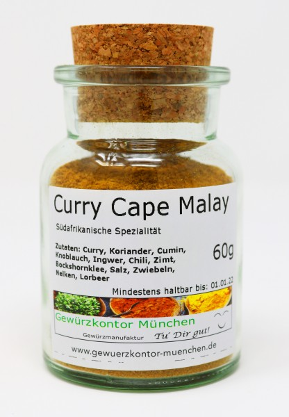 Curry Cape Malay 60g im Glas