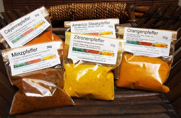 Pfeffer Mischungen Schnupperset -1