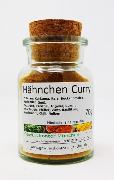 Curry-Hähnchen mild 70g im Glas