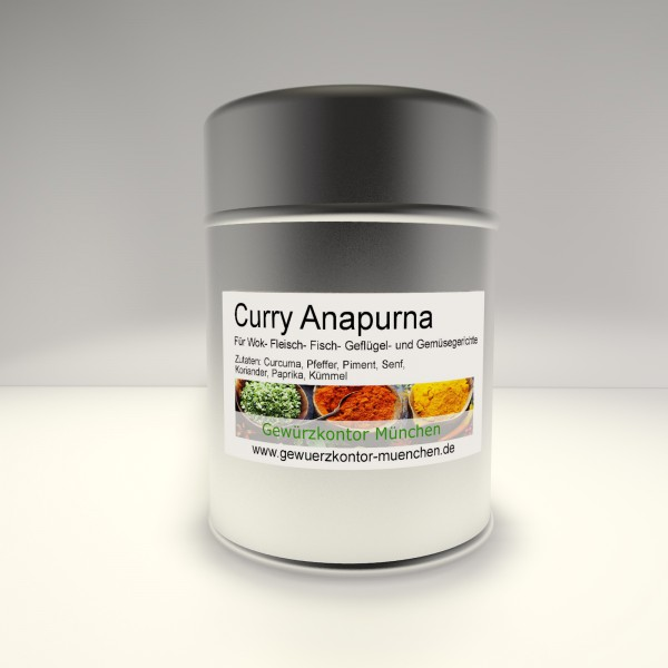 Curry Anapurna 50g im Streuer