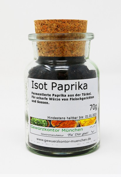 ISOT Paprika, ISOT biber, URFA biber 70g im Glas