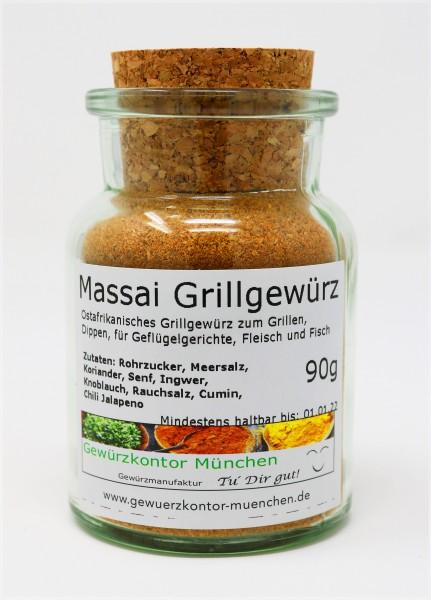 Masai, Massai Grillgewürz 90g im Glas