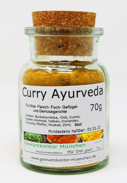 Curry Ayurveda 70g im Glas