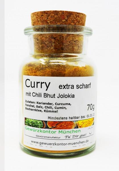 Curry extra scharf 70g im Glas