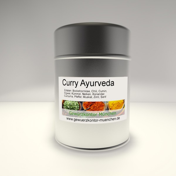 Curry Ayurveda 50g im Streuer