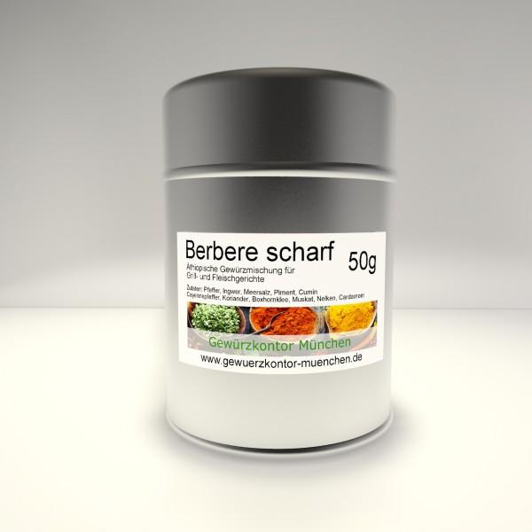 Berbere scharf 50g im Streuer