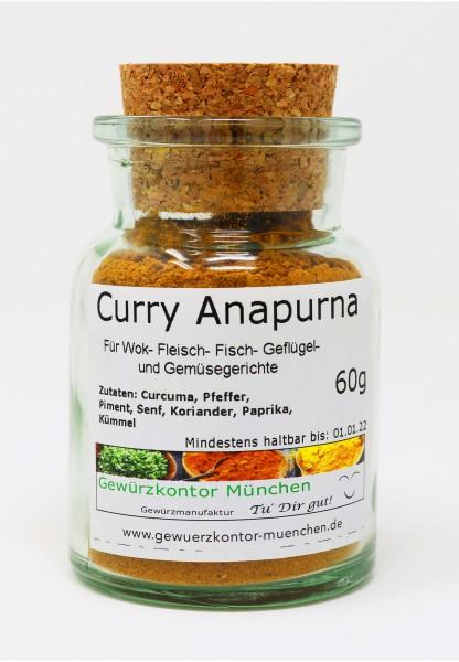 Curry Anapurna 60g im Glas