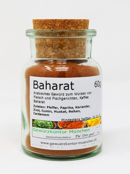 Baharat Orient Gewürz 50g im Glas